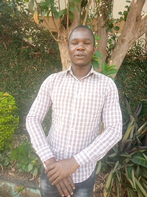 Moses was enrolled in the Fields of Life sponsorship programme, and has just graduated university!